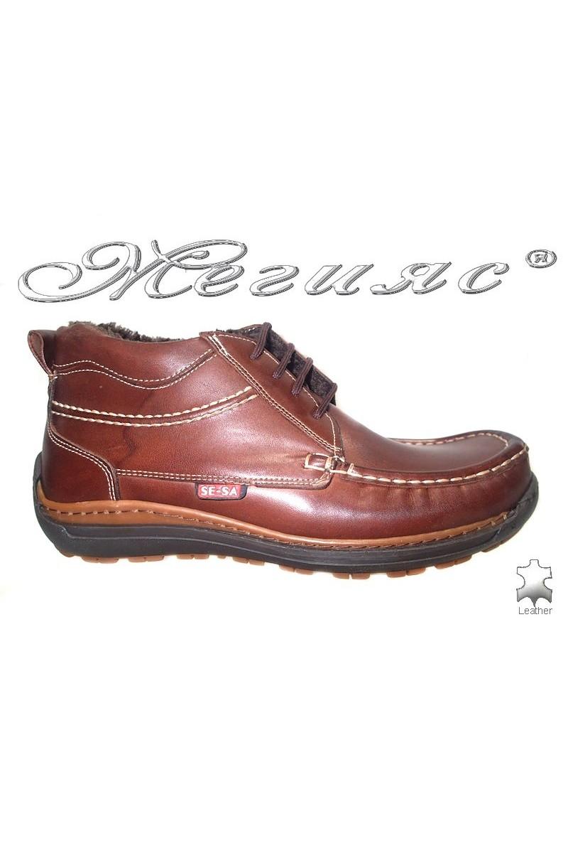 men's boots sensato 03 brown