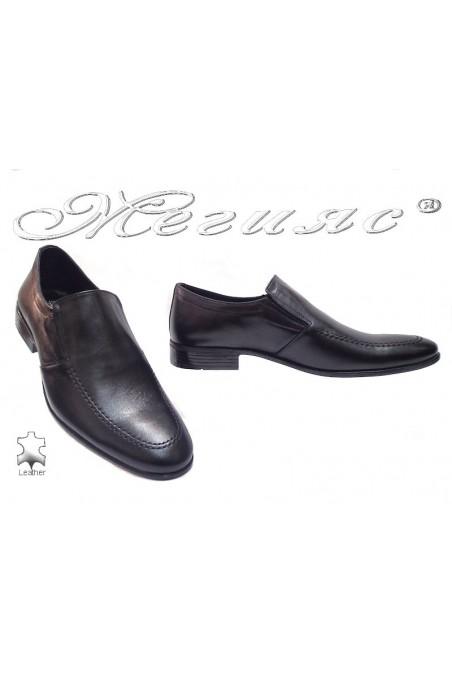 Мъжки обувки Фантазия 27 черно естествена кожа