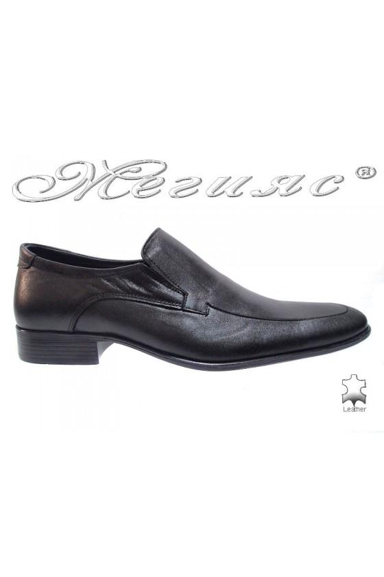 Мъжки обувки Фантазия 43 черно естествена кожа