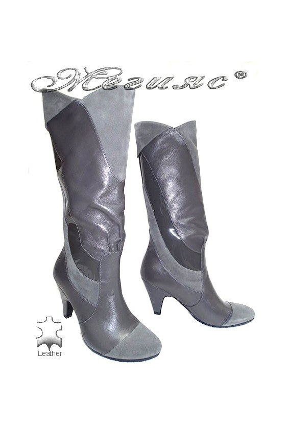 Lady boots 053-607 grey