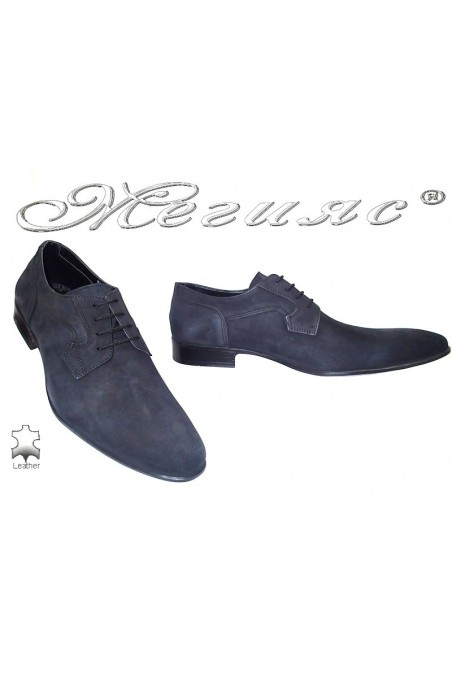 men's shoes 8002 black suede
