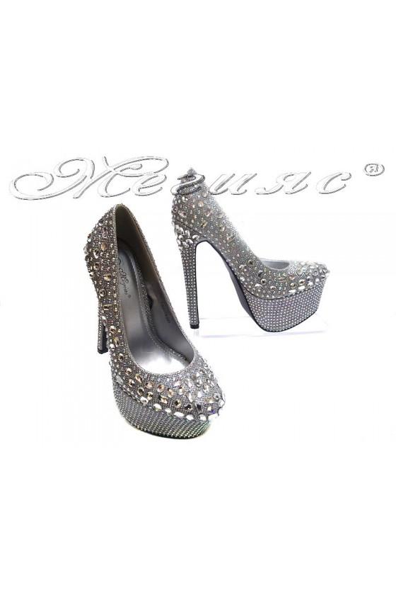 Дамски обувки TINA 114-300 silver