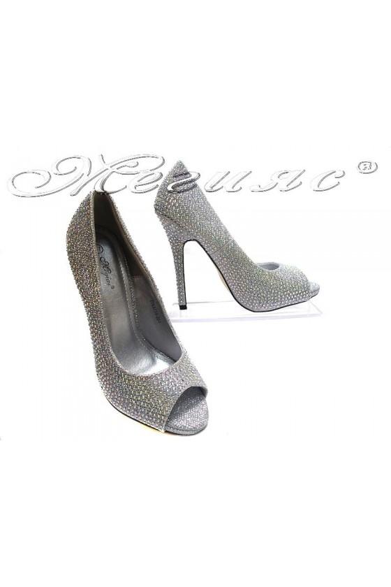Дамски обувки TINA 114-304 silver