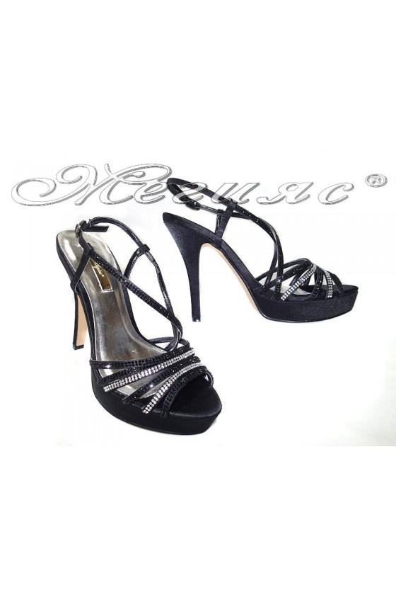 Дамски сандали Jeniffer 114-158black
