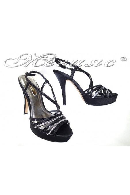 Lady sandals 114 158black