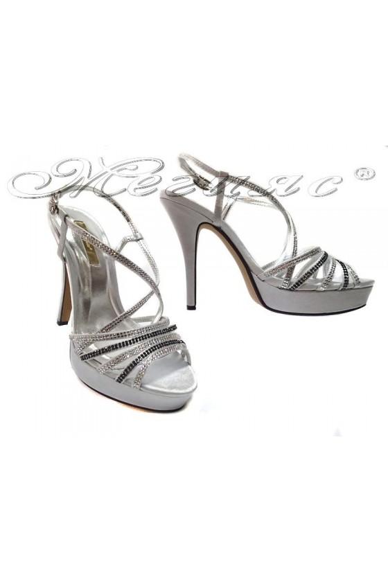 Дамски сандали Jeniffer 114-158silver