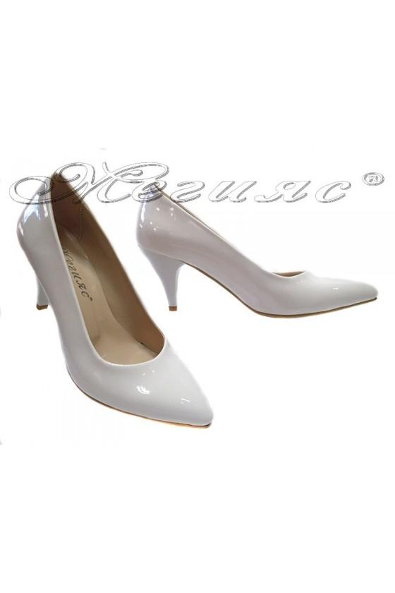 Women elegant  shoes 117 low heel pu