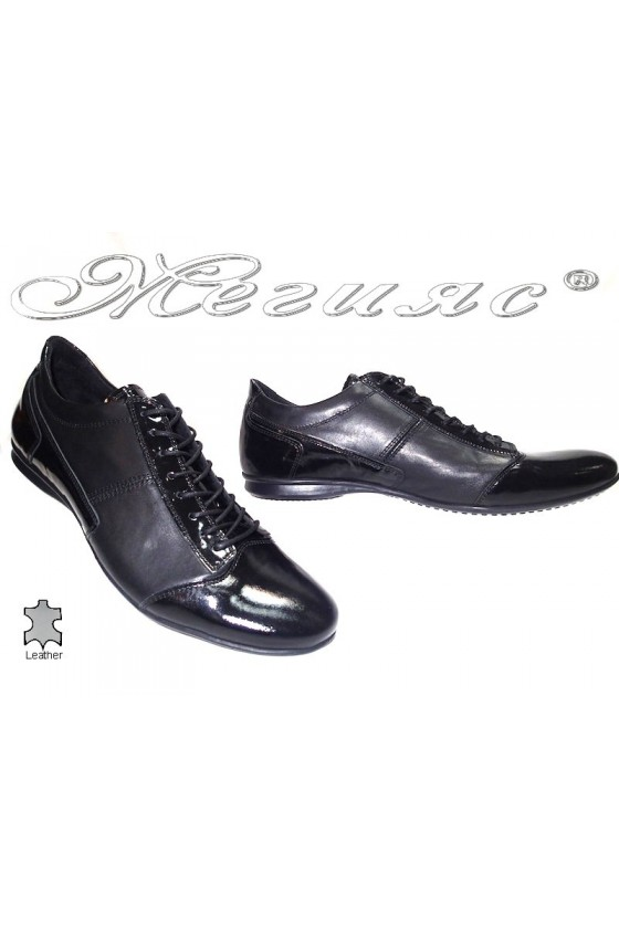 Men's shoes met 017 black