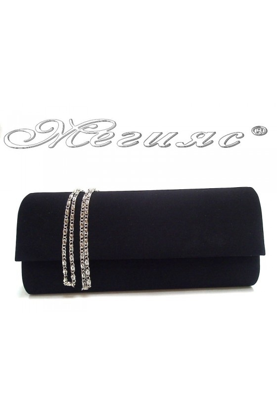 Абитуриентска чанта 373 черна велур