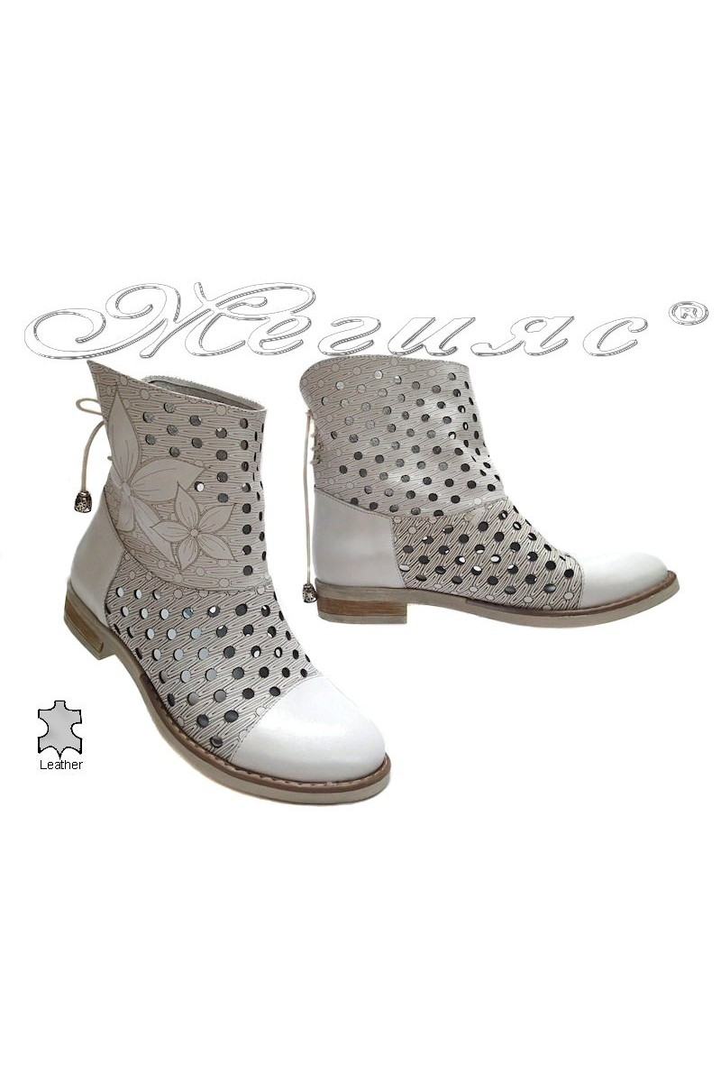 lady boots 3336 white