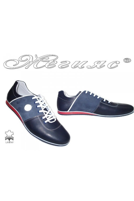 men's shoes 6281 blue