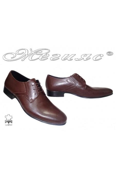men's shoes Sharp 811 brown