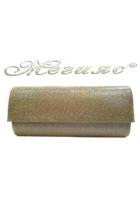 Абитуриентска чанта 373 златна текстил
