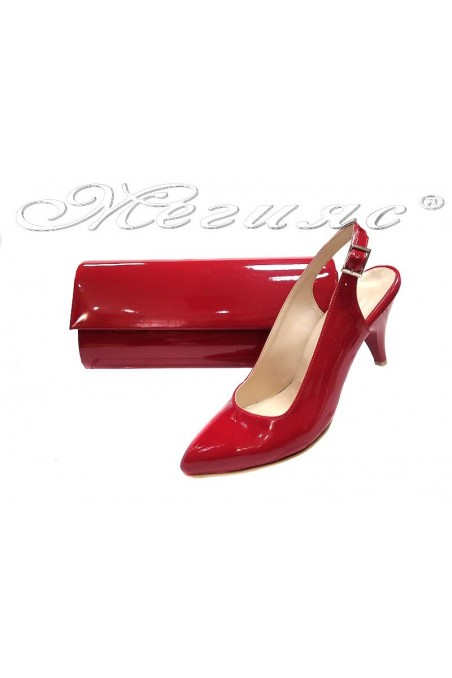 shoes 311 red+bag 373