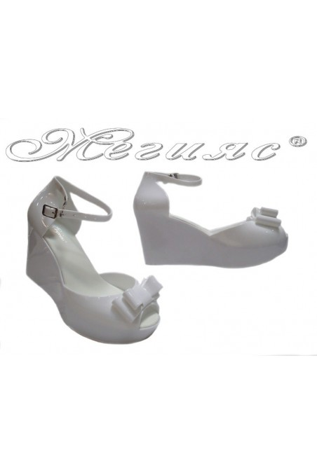sandals Pan 114-528 white