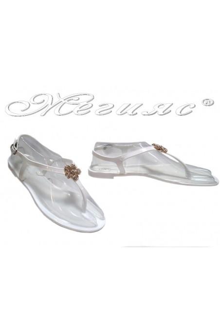 sandals Pan 114-520 white