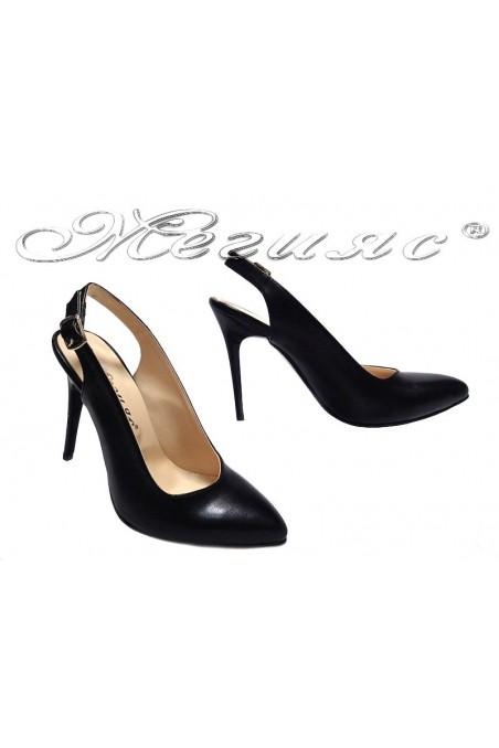 Дамски сандали 315 черни мат