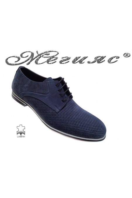 men's shoes Sharp 901 blue