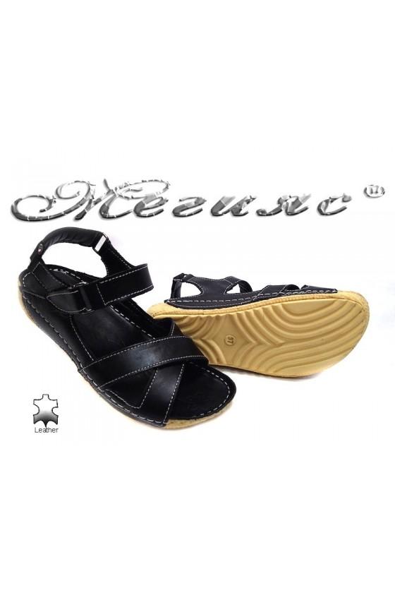 lady sandals 116 black