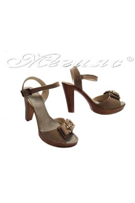 sandals 161 beige