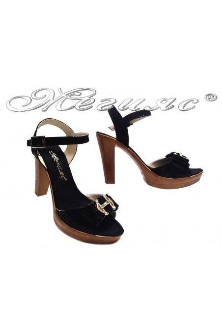 sandals 161 black