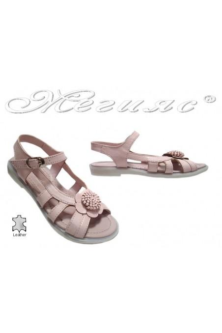 sandals 54 rose
