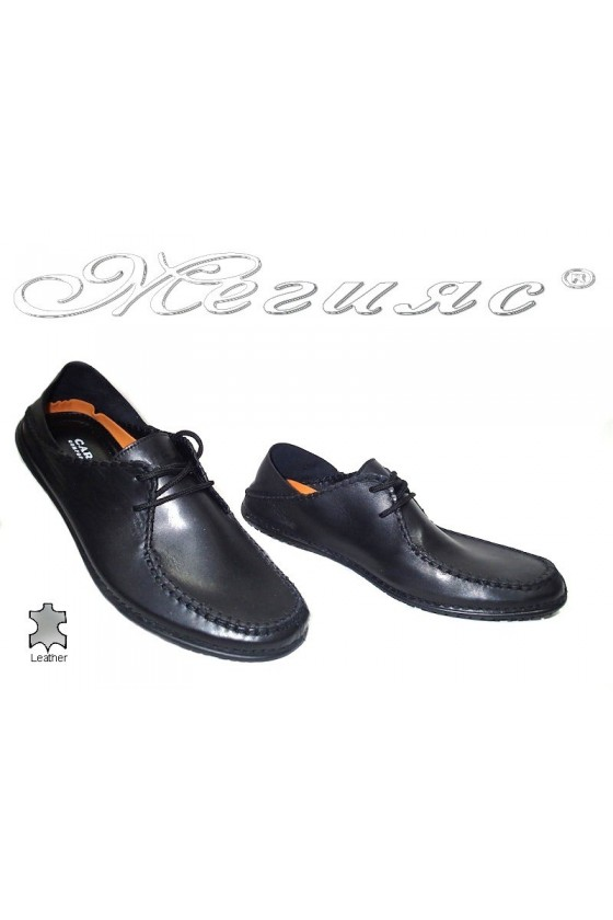 men's shoes Carcino 10102 black