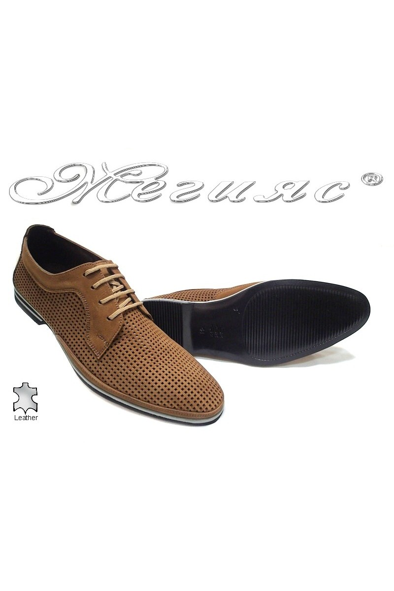 Мъжки обувки Фантазия 082 031/2 таба естествен  набук