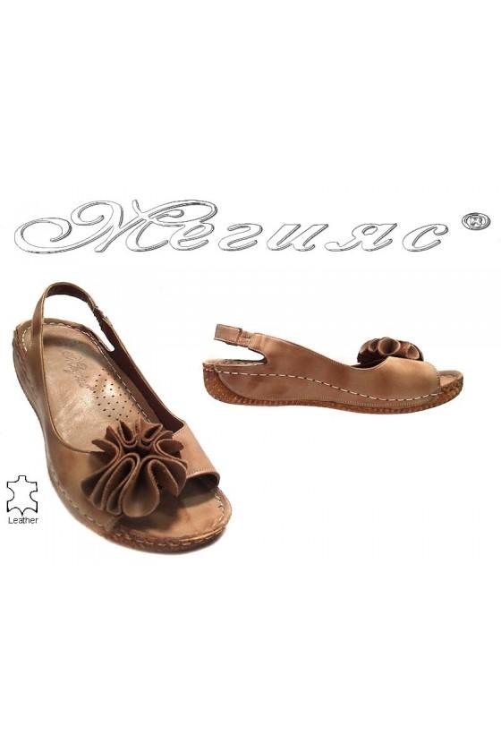 lady sandals 108 dk.beige