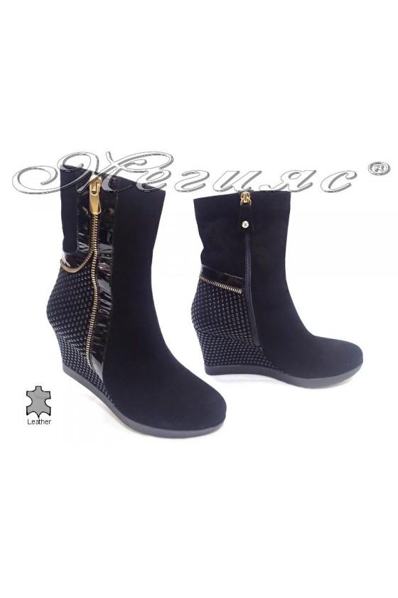 lady boots8545 black