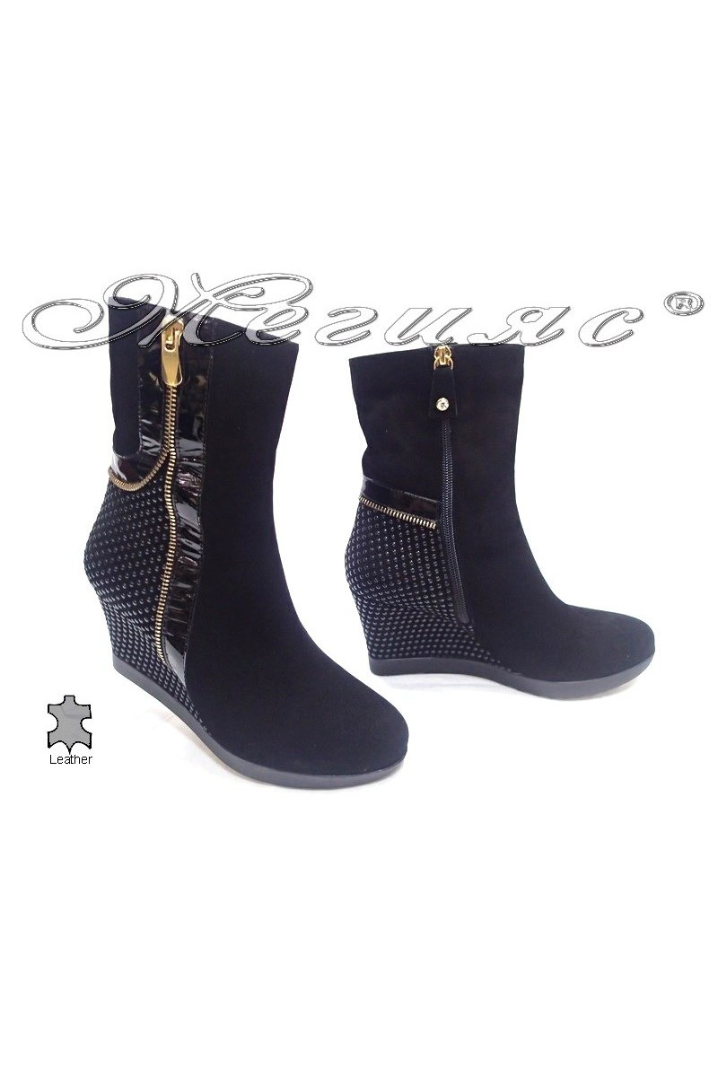 lady boots8545 black