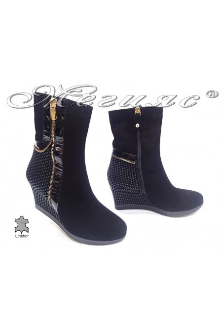 lady boots 8545 black