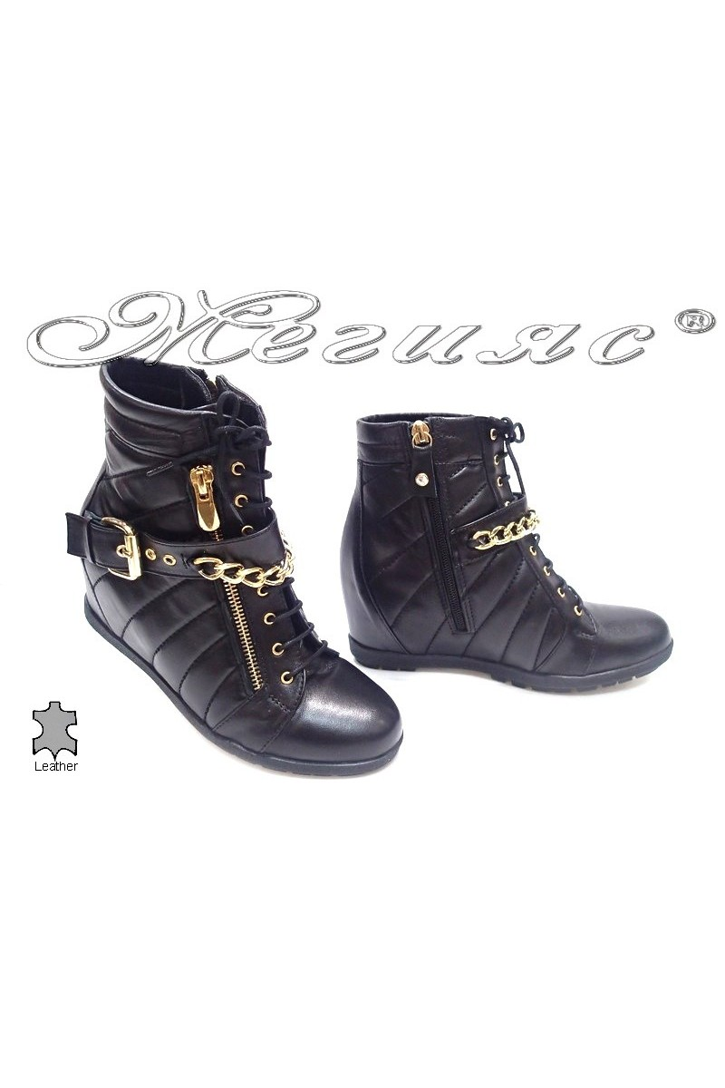 lady boots8572 black