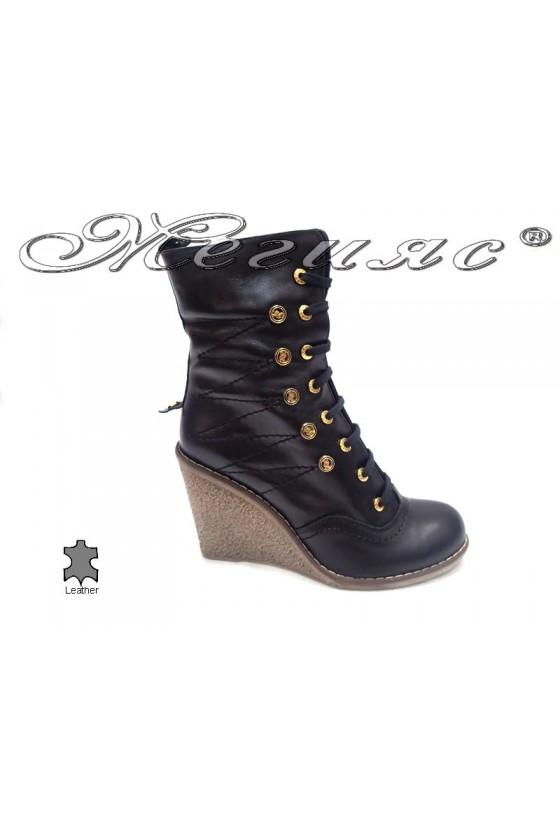 lady boots А6-04  black