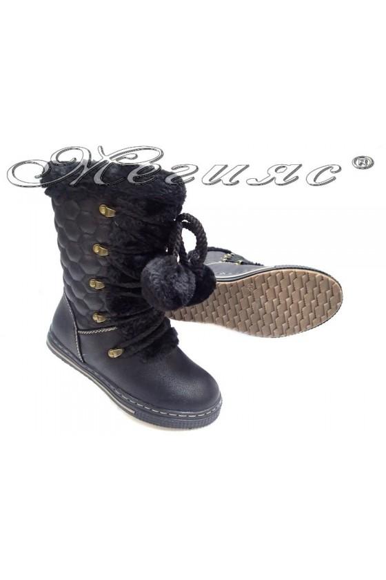 boots David 15220black