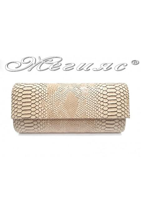bag 373 beige snake