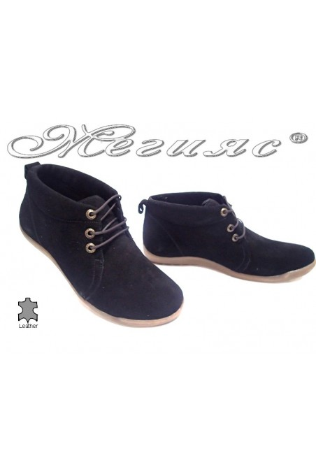 boots 5003 black suede