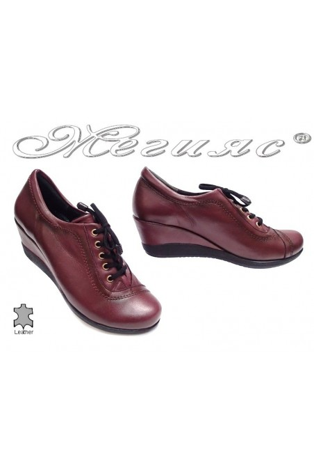 lady shoes 057 wine