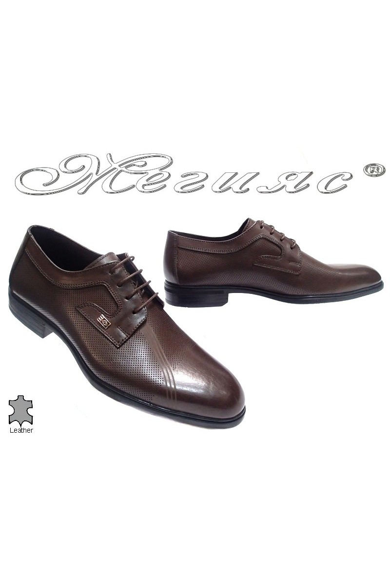 men's shoes 312-02 brown