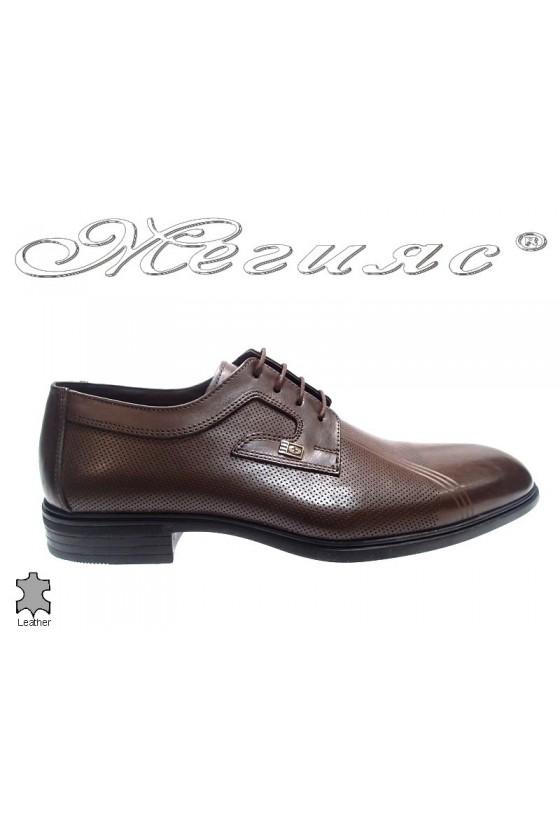 men's shoes 312-02 brown