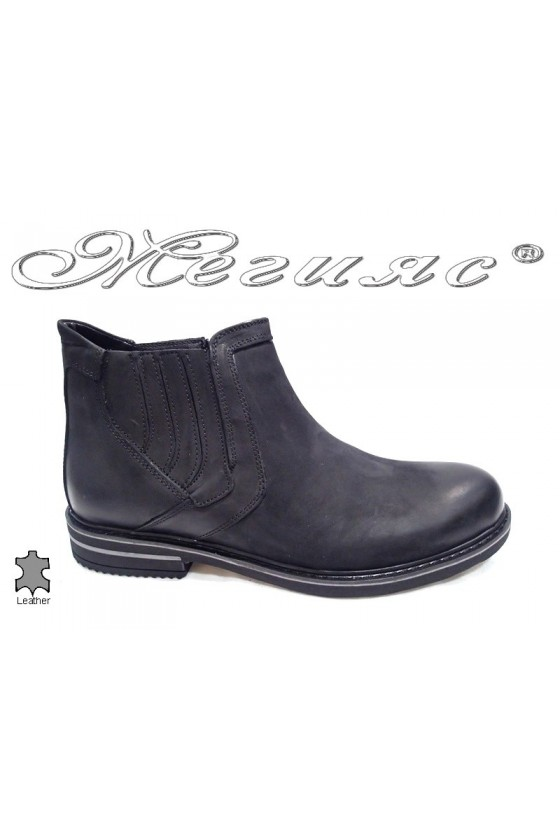 men's boots Sharp 007 black