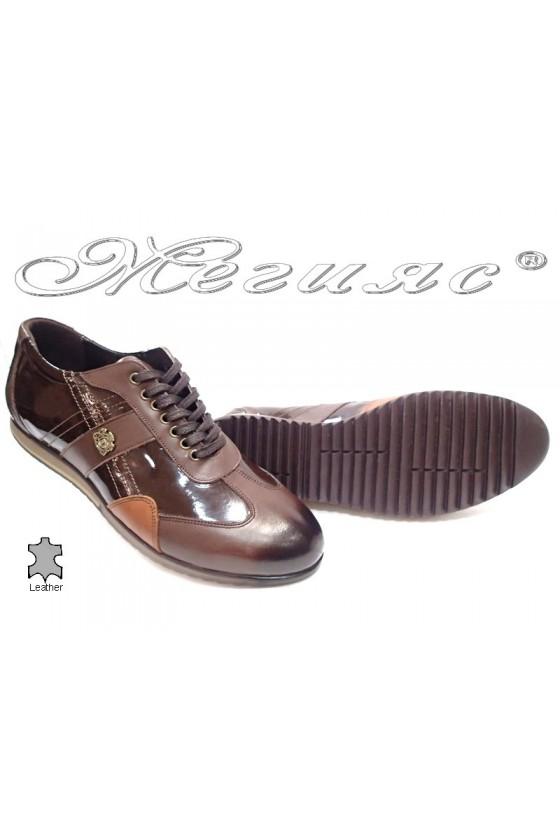 men's shoes Bala 436 brown