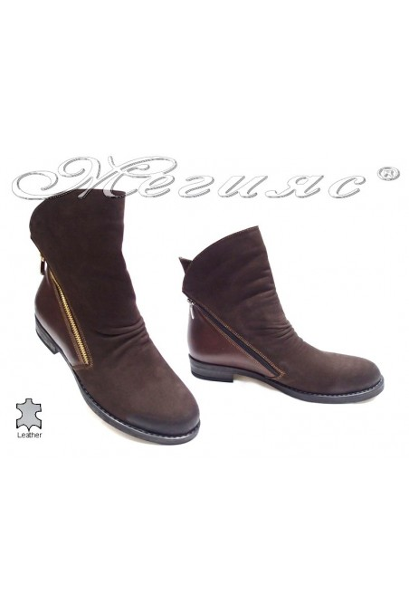 lady boots 2147 brown