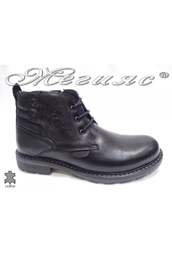 men's boots  4706 black