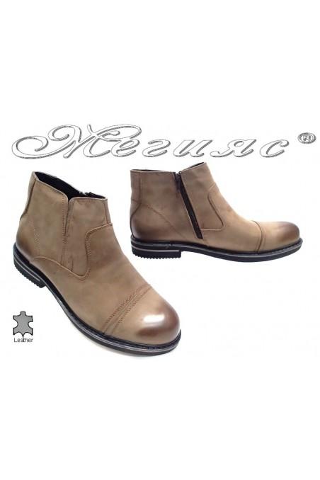 men's boots Sharp 013 beige