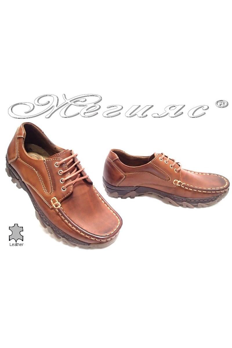 Мъжки обувки Сенсато 07 таба естествена кожа