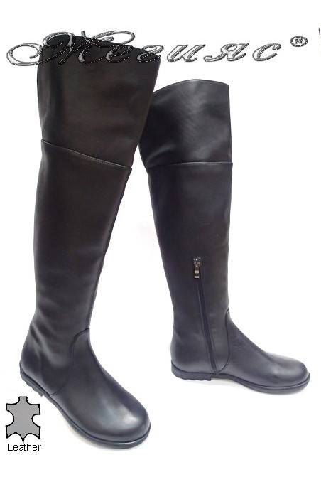 lady boots Clever black