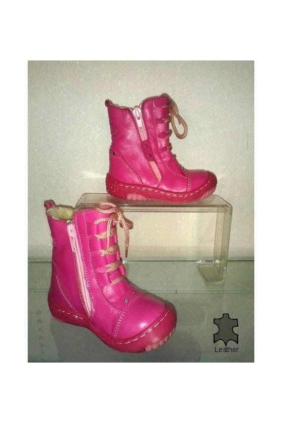 children's boots 8-61 pink
