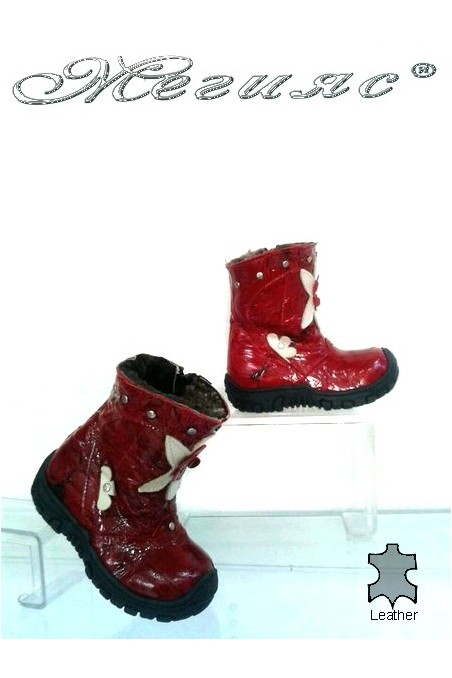 children's boots 342 red
