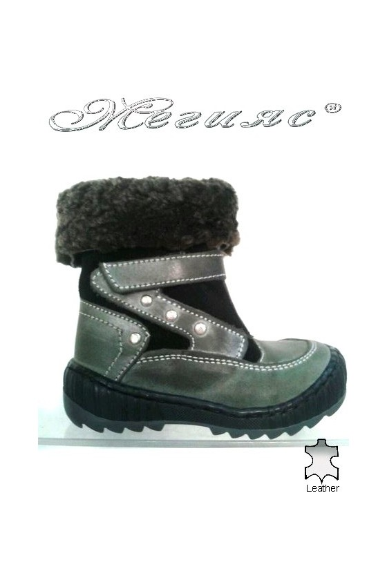 children's boots 342 grey
